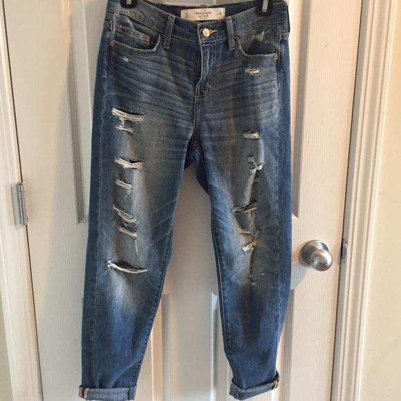 69% off Abercrombie & Fitch Denim - Abercrombie boyfriend jeans ...
