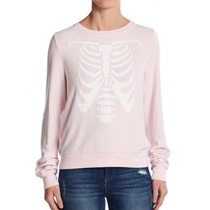 Wildfox Tops - 💕SALE💕WILDFOX SKELETON BABY LIMITED EDITION
