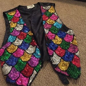 Serious fun Jackets & Coats - Colorful vest