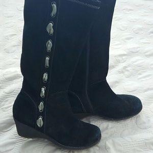 Gabriella Rocha Shoes - Black suede boots