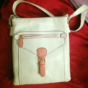 Crossbody Charming Charlie purse.