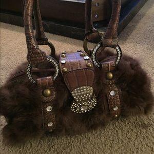 Handbags - Fur purse