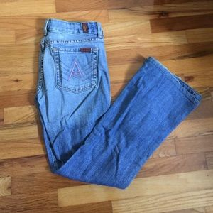 RARE SFAM 7FAM Pink A pockets size 27