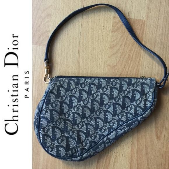 c05dd3c176b Dior Bags   Hold Christian Authentic Vintage Saddle Bag   Poshmark