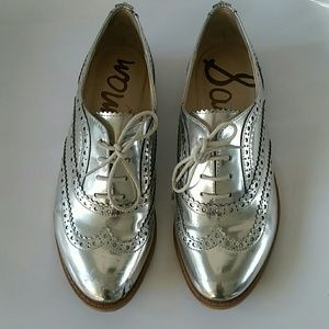 Silver - Sam Edelman spectator shoes