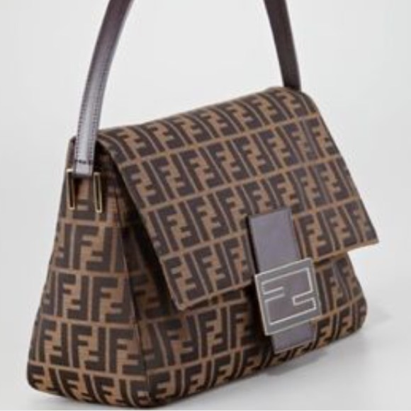 fe2d58114f50 FENDI Handbags - Authentic FENDI ZUCCA MAMA FOREVER BAG