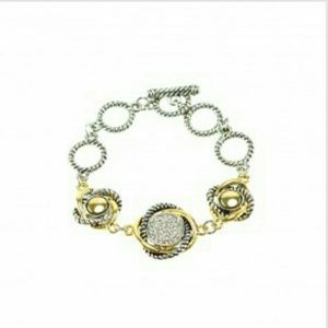 Jewelry - Rope and Gold Fashion Bracelet