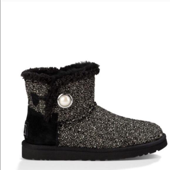 6830a7de07d canada ugg australia mini bailey button fancy booties heels bcf9f aac9b