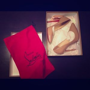13% off Christian Louboutin Shoes - Christian Louboutin Neo Pensee ...