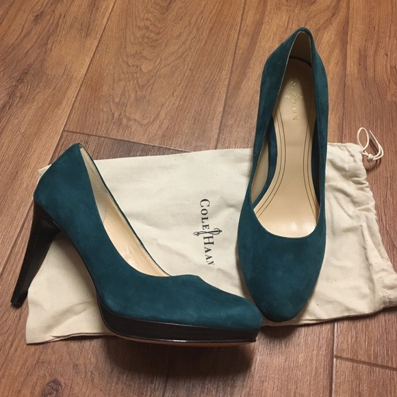 Cole Haan Suede Crossover Pumps get authentic online genuine online buy sale online clearance online ebay oU2GwzJeR