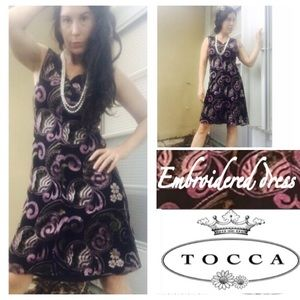 Tocca Dresses & Skirts - Tocca embroidered dress size 2