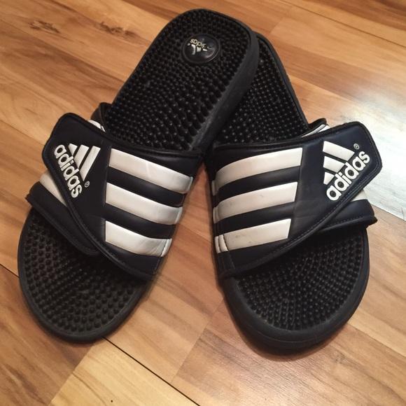 bed635add801 Adidas Shoes - ADIDAS Adissage Slide Classic Three Stripe Sandals