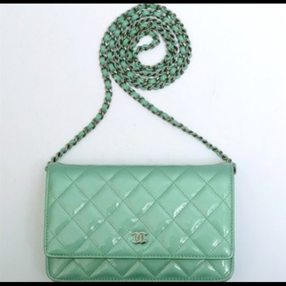 657d50054e9cc7 CHANEL Bags | Sold Patent Quilted Wallet On Chain Woc | Poshmark