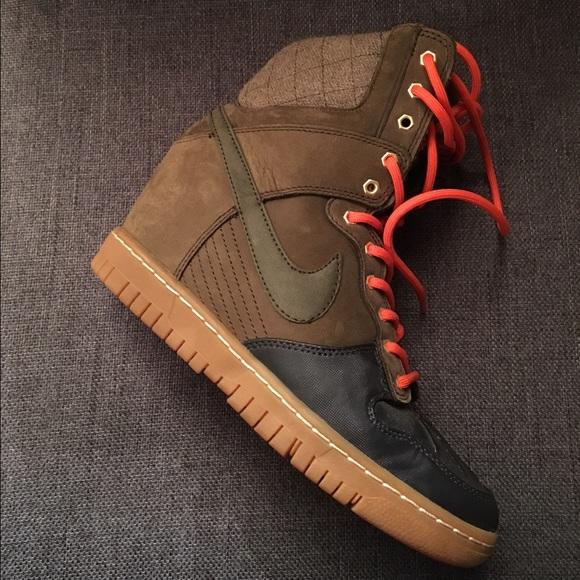 Nike Shoes Dunk Sky Hi Sneakerboot Poshmark