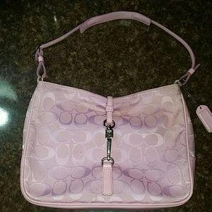 16 off coach handbags coach crossbody bag in light pink. Black Bedroom Furniture Sets. Home Design Ideas