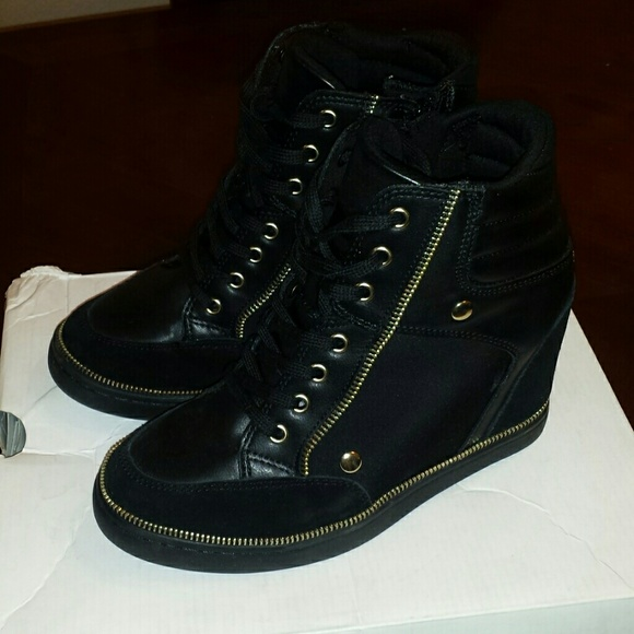 ALDO Shoes - Wedge sneakers with zippers