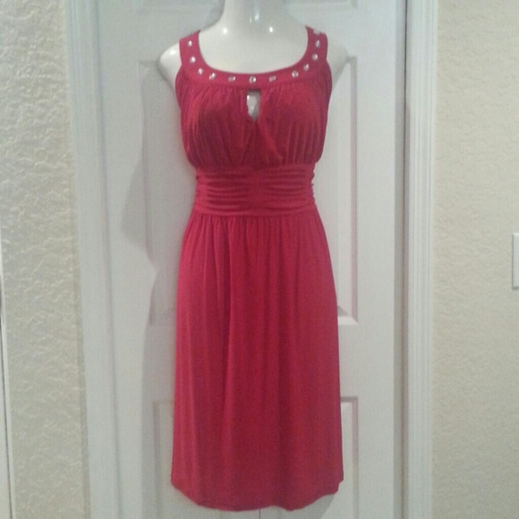 1890abd3f07 Red pin up cocktail dress plus size 16W. NWT. Olivia Matthews