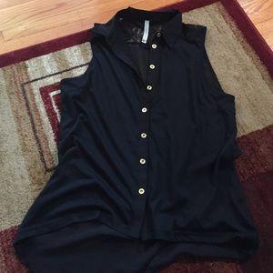 Paper Crane Tops - Sleeveless blouse