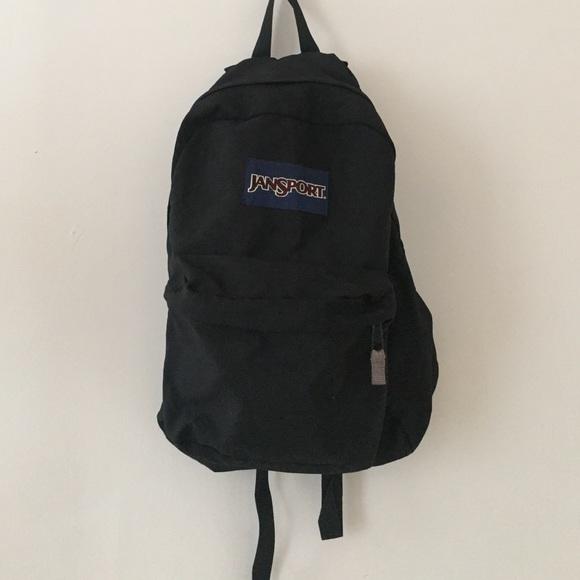 78% off Jansport Handbags - CLASSIC Black JANSPORT backpack ...
