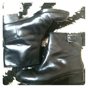 Gap. Black ankle boots.