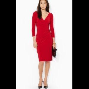 ❤️Ralph Lauren❤️ Perfect Fit Red Dress