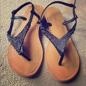 Coconuts rhinestone sandals