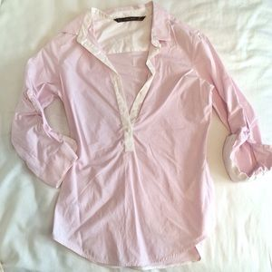 Zara Basic fitted Top