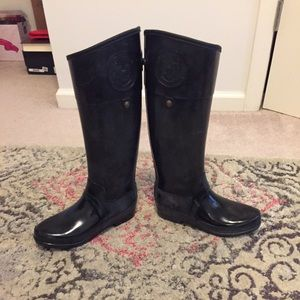 Hunter Shoes - Hunter Sandhurst Carlyle Tall Riding Rainboots