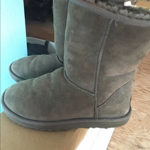Size 7 Grey Ugg Boots