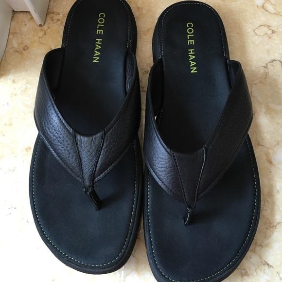 36825b2d6977 Cole Haan Other - Cole haan black flip flops mens