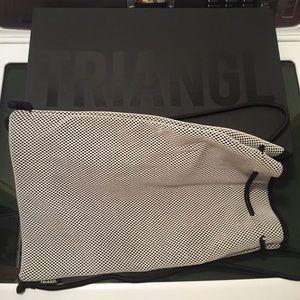 triangl swimwear Other - Triangl Bag Neoprene Drawstring Backpack Matte Box