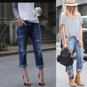 Current Elliott BF super loved jeans