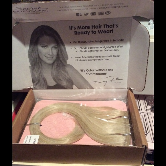 Daisy Fuentes Other New Invisible Band Hair Extensions Poshmark