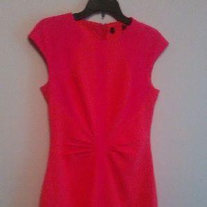 Orange ted baker dress