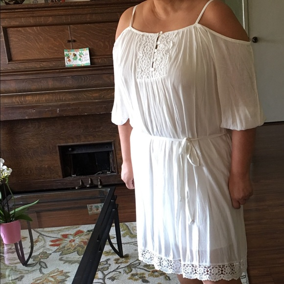 26% off Maurices Dresses & Skirts - Off the shoulder off white ...
