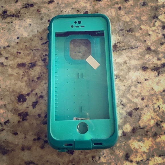 100% authentic 383ed 14ae4 iPhone 5 Teal Lifeproof Waterproof Case