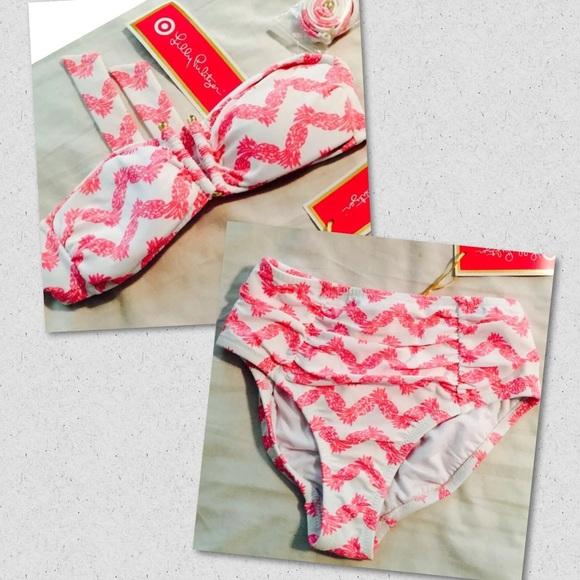 b724e10b6c Lilly Pulitzer Swim | Lilly For Target Belladonna Bikini | Poshmark