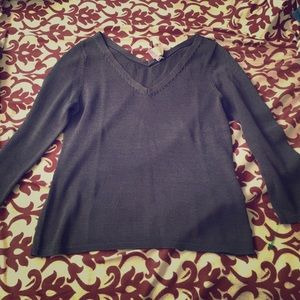 Eileen Fisher Knit V Neck Sweater