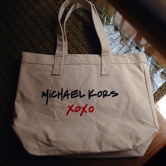 Michael Kors - Michael kors MK bag XOXO canvas tote trendy from ...