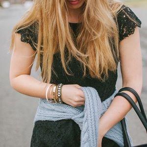Tulle Dresses & Skirts - Black lace dress