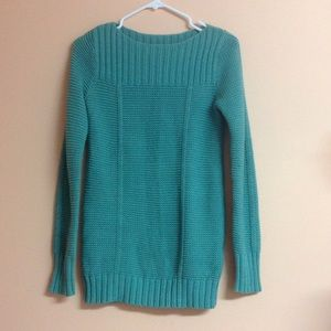 Warm sweater - more of a teal color