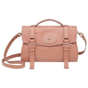"Mulberry Handbags - Rare Rose Gold Hardware Mulberry ""Alexa"" Satchel"