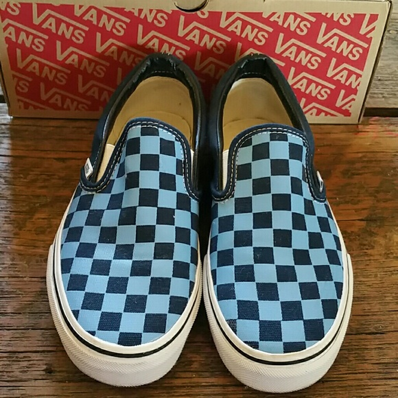 cách check vans slip on checkerboard
