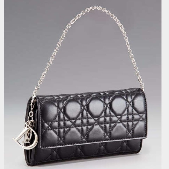 Dior Handbags - Dior Lady Dior Cannage Renezvous chain wallet 424cc01f9e279