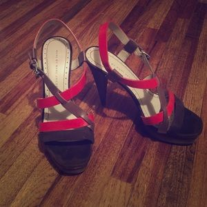 Marc By Marc Jacobs Brown and Ref Heels