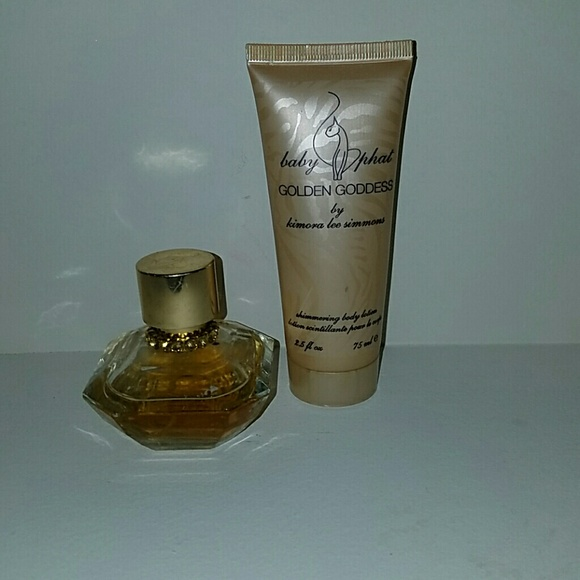 3d41d03aeb3 Baby Phat Other - Baby Phat Golden Goddess lotion and Perfume set