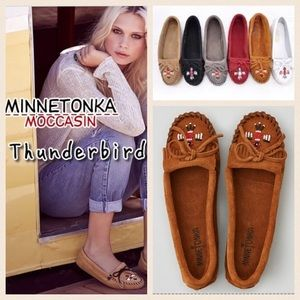 Minnetonka Shoes - NEW!  Minnetonka Thunderbird ll suede moccasin
