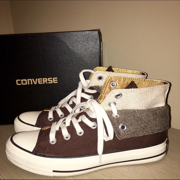 4f8fcdc3b38a Converse Shoes - Converse two fold high top sneaker.