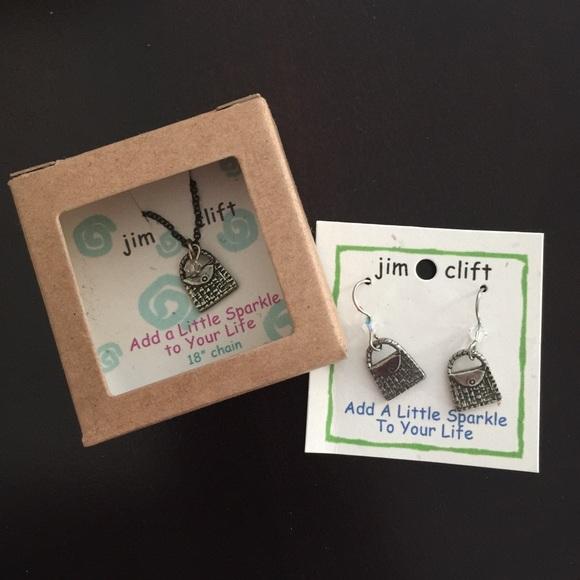 Jim Clift Jewelry - Handbag jewelry set with Swarovski elements