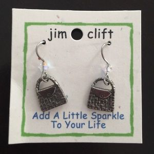 Jim Clift Jewelry - Handbag jewelry set with Swarovski elements